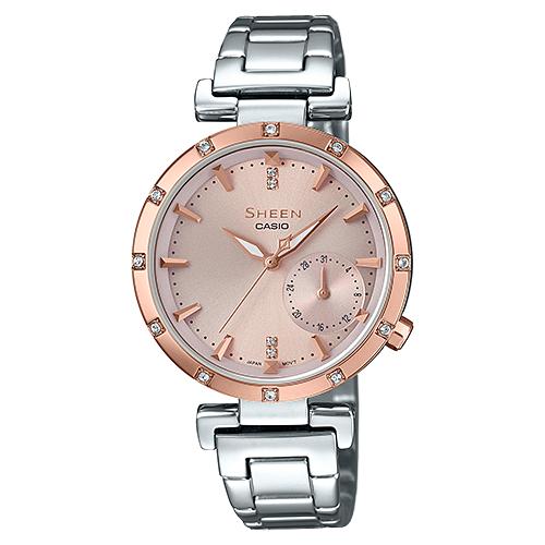 цена Наручные часы CASIO SHE-4051SG-4A онлайн в 2017 году