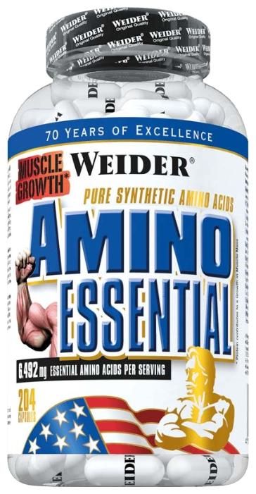 Аминокислотный комплекс Weider Amino Essential (204 капсулы)