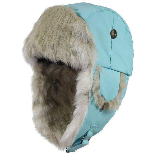 Шапка-ушанка Huppa размер L, 056 голубой куртка huppa isla 17820020 размер 116 73320 white pattern gray