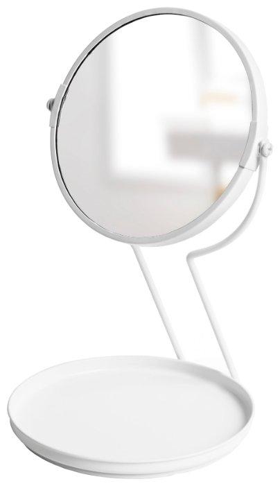 Зеркало Umbra See me 19х31 белый в раме