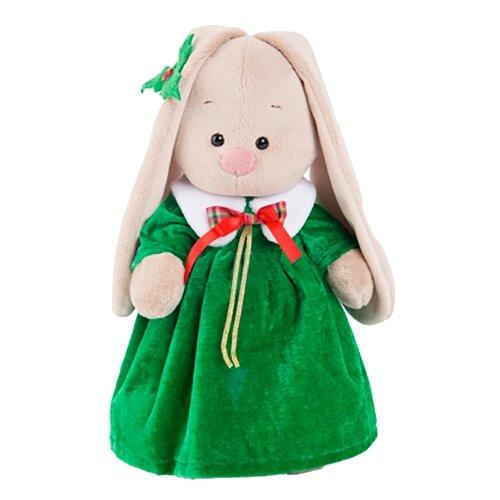 Мягкая игрушка Зайка Ми в рождественском платье 25 см мягкая игрушка зайка ми в платье в стиле кантри 25 см