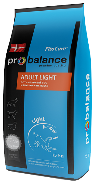 Корм для собак ProBalance Adult Light