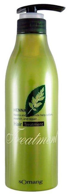 FLOR de MAN Маска для волос и кожи головы Henna Hair Treatment Pack