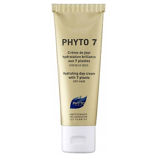 PHYTO 7 Увлажняющий крем для волос на основе 7 трав, 50 мл phyto для волос витамины купить