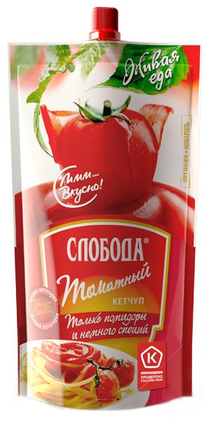 Кетчуп Слобода Томатный