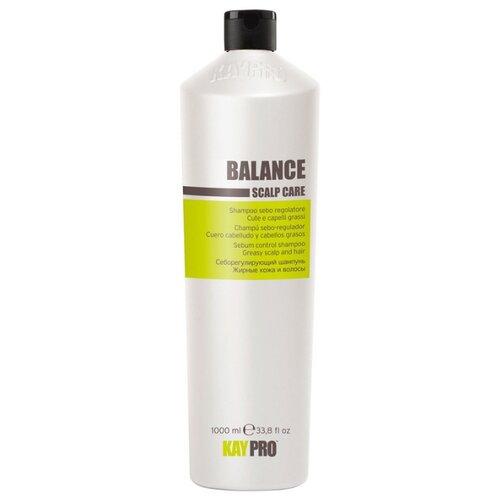 KayPro шампунь Balance себорегулирующий для жирных волос 1000 млШампуни<br>