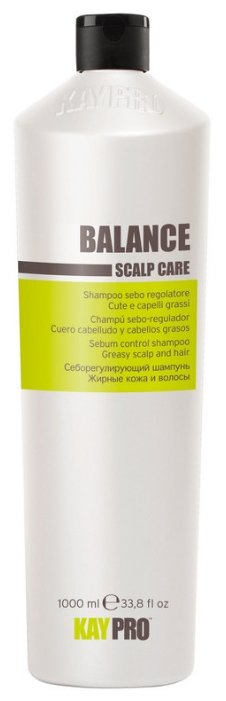 KayPro шампунь Balance себорегулирующий для жирных волос