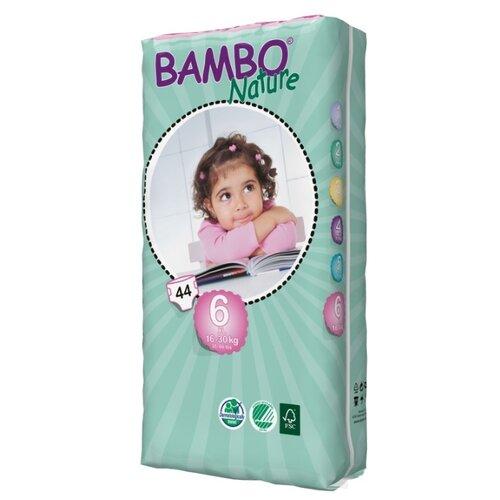Купить BAMBO подгузники Nature XL (16-30 кг) 44 шт., Подгузники