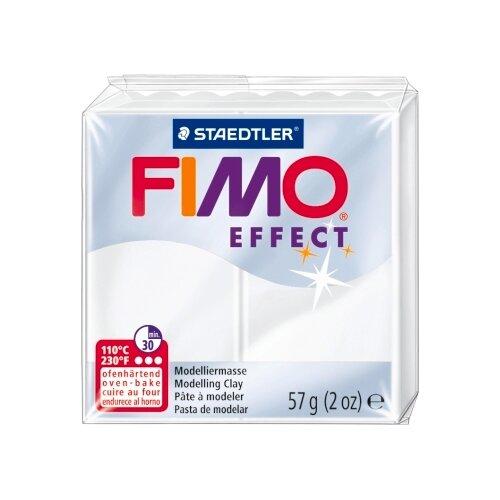 Купить Полимерная глина FIMO Effect запекаемая прозрачный (8020-014), 57 г, Глина