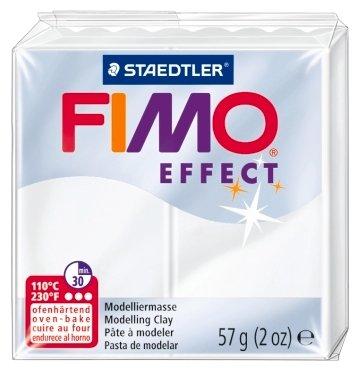 Полимерная глина FIMO Effect запекаемая прозрачный (8020-014), 57 г