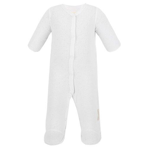 Купить Комбинезон lucky child размер 18 (50-56), белый, Комбинезоны