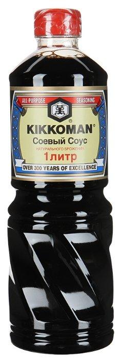 Соус Kikkoman Соевый натурально сваренный, 1 л — купить по выгодной цене на Яндекс.Маркете
