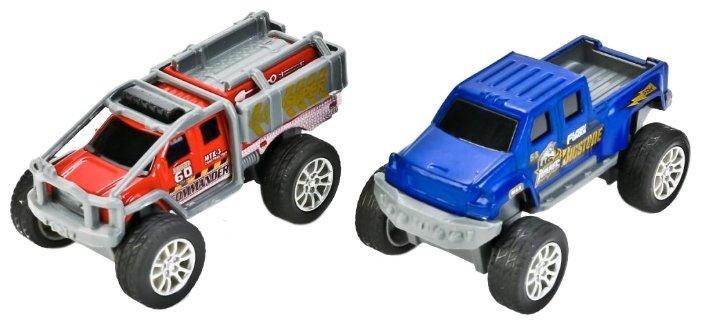 Набор машин ТЕХНОПАРК из двух моделей (90113