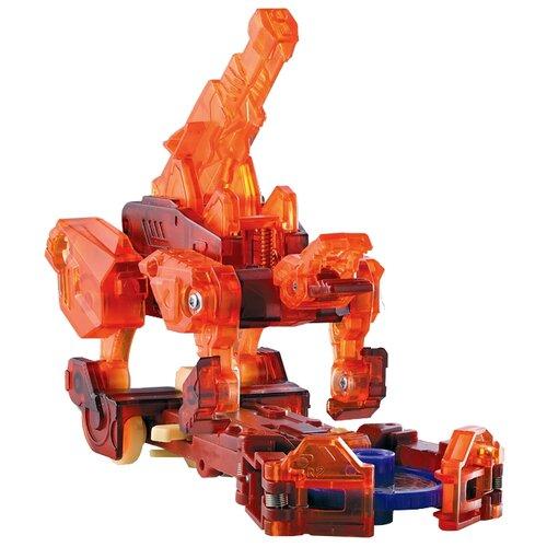 Купить Интерактивная игрушка трансформер РОСМЭН Дикие Скричеры. Линейка 2. Спайкстрип (34828) красный, Роботы и трансформеры