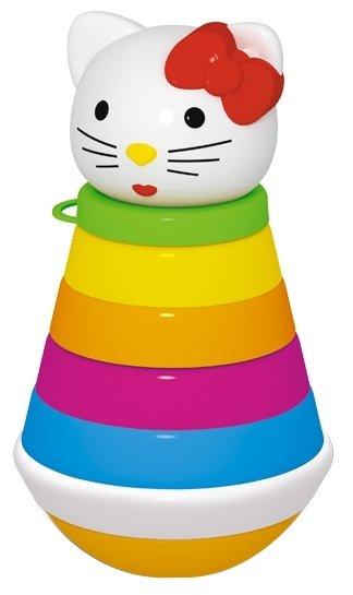 Неваляшка Стеллар пирамидка Кошка, упаковка пакет (01581)