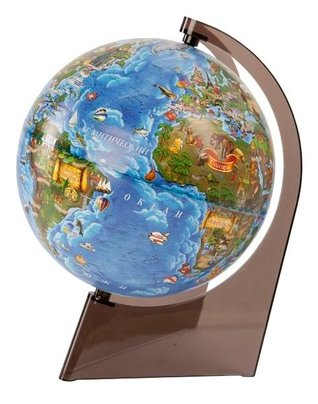 Глобус Глобусный мир Детский 210 мм (10291)