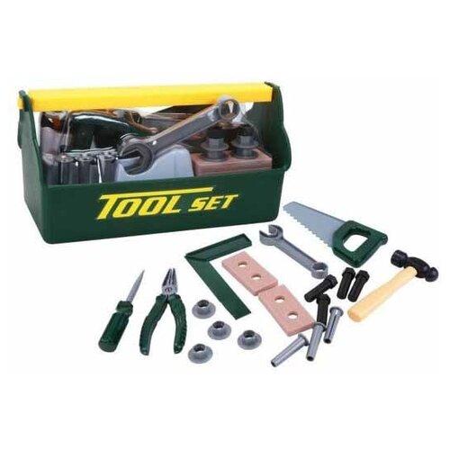 Shantou Gepai Набор инструментов, 21 предмет (T115A) shantou gepai набор строительных инструментов 9 предметов 2093 1