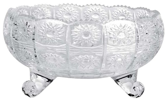Салатник квадрато белый 14см, стекло