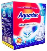 AQUARIUS All in 1 таблетки для посудомоечной машины 150 шт.