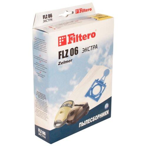 Filtero Мешки-пылесборники FLZ 06 Экстра 3 шт.Аксессуары для пылесосов<br>