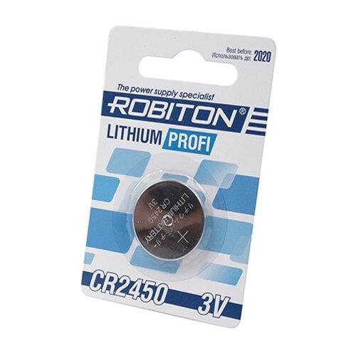 Купить Батарейка ROBITON Lithium Profi CR2450 1 шт блистер