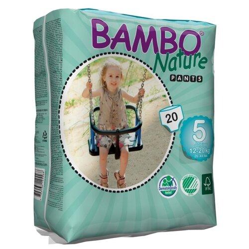 BAMBO трусики Nature 5 (12-20 кг) 20 шт.Подгузники<br>