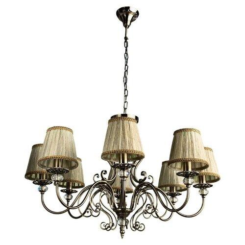 цена на Люстра Arte Lamp Charm A2083LM-8AB, E14, 480 Вт