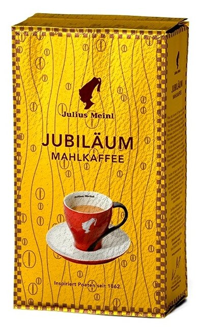Кофе молотый Julius Meinl Юбилейный