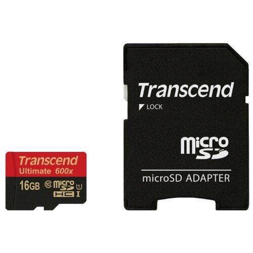 Фото - Карта памяти Transcend TS16GUSDHC10U1 карта памяти transcend ts128gcf800