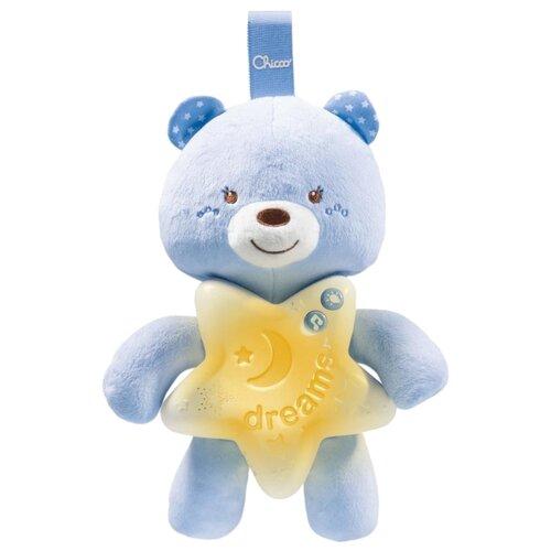 Купить Подвесная игрушка Chicco Медвежонок голубой, Подвески