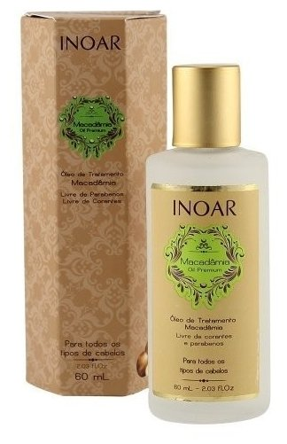 Inoar Professional Macadamia Care Масло для восстановления волос