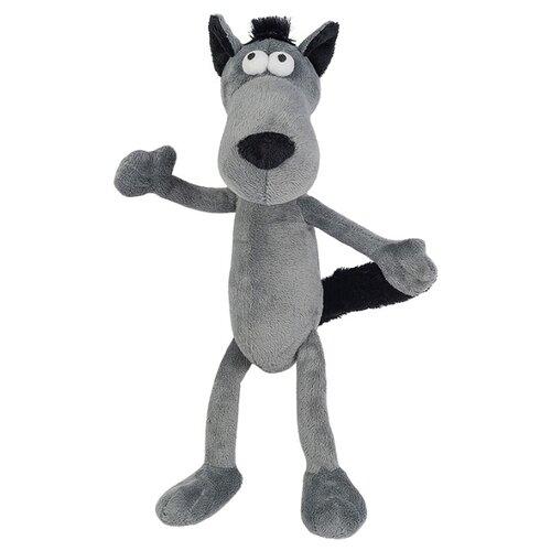Купить Мягкая игрушка Maxitoys Волчок - серый бочок 22 см, Мягкие игрушки