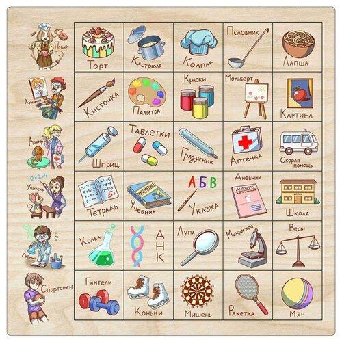 Фото - Настольная игра Мастер игрушек Ассоциации: Профессии настольная игра мастер игрушек мемори