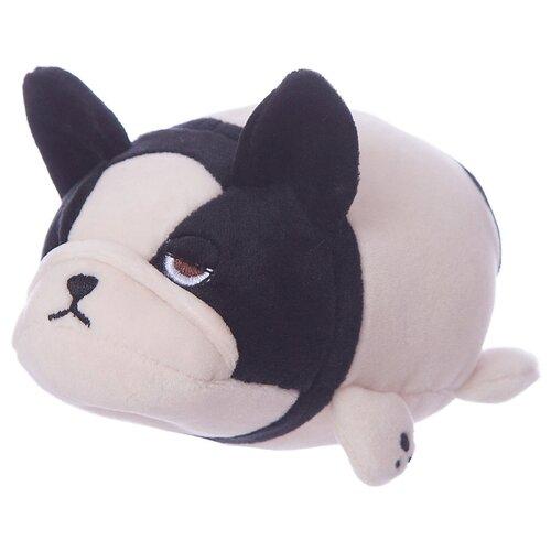 Мягкая игрушка Yangzhou Kingstone Toys Собачка розовая с черным 7 см