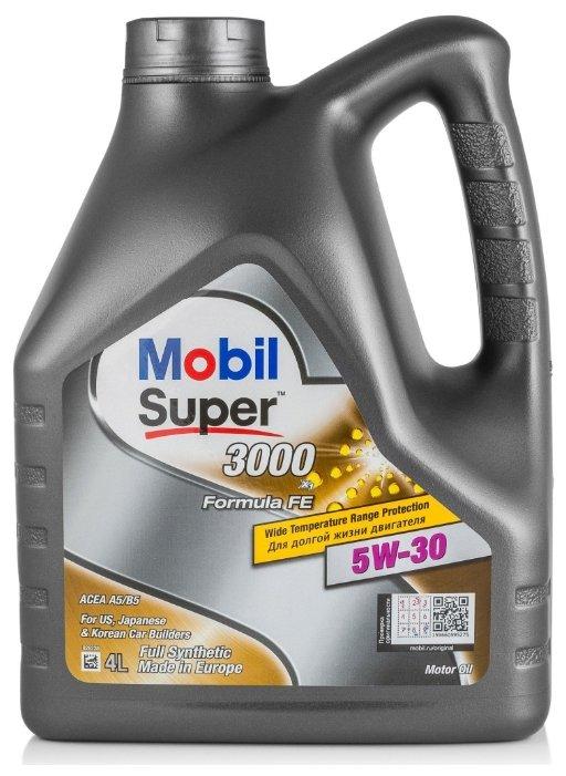 Mobil Super 3000 X1 Formula FE 5W-30, 4 л