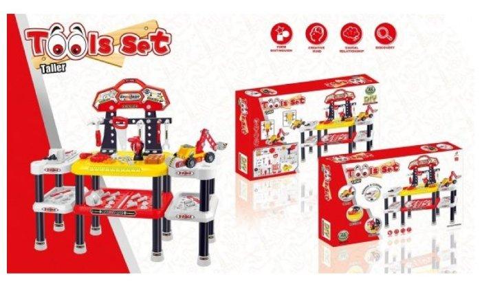 Shantou Gepai Столик с инструментами 121 предмет 2212