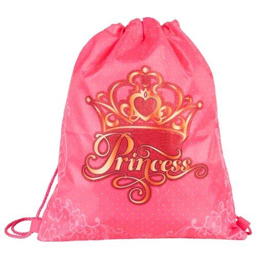 Target Сумка для детской сменной обуви Принцесса (17908) розовый/золотистыйМешки для обуви и формы<br>