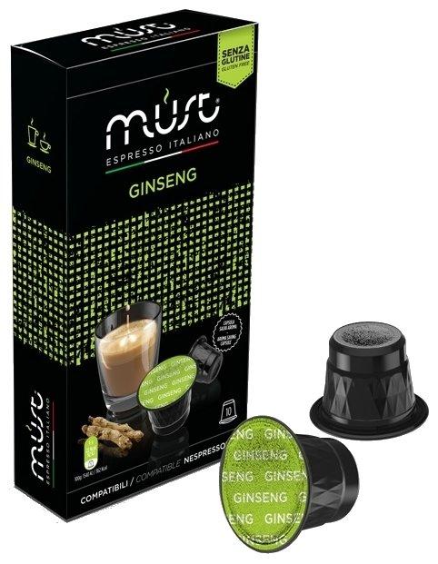 Кофе в капсулах MUST Ginseng (10 шт.)