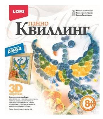 LORI Набор для квиллинга Синяя птица Квл-012