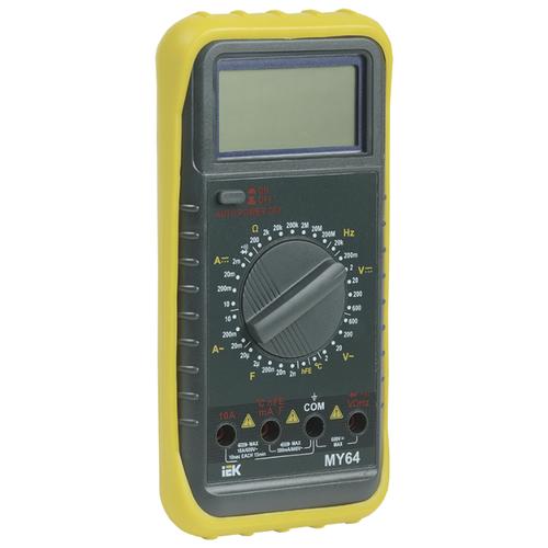 Мультиметр IEK Professional MY64 мультиметр мастер professional m266c