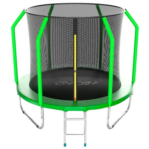 Каркасный батут EVO Jump 6FT Cosmo 183х183х210 см green каркасный батут unix line 6ft outside 183х183х215 см green