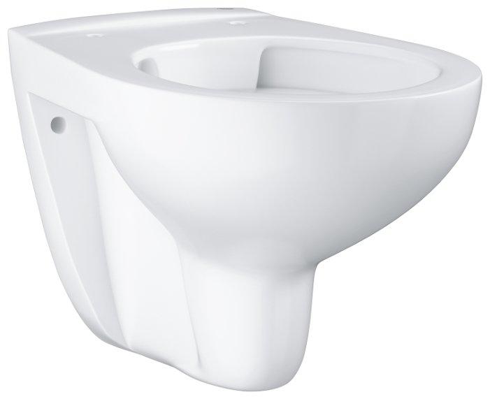 Чаша унитаза подвесная Grohe Bau Ceramic 39427000 с горизонтальным выпуском