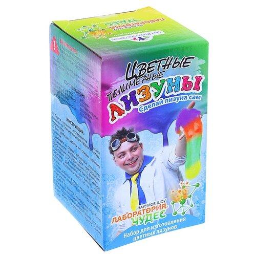 Набор Инновации для детей Цветные полимерные лизуны набор инновации для детей цветные лизуны червяки