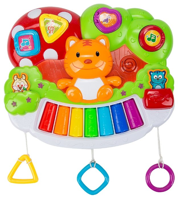 S+S Toys пианино Бамбини Веселая команда ES00662606