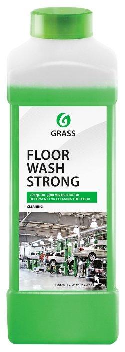 Купить GraSS Средство для мытья полов Floor wash strong 1 л по низкой цене с доставкой из Яндекс.Маркета (бывший Беру)