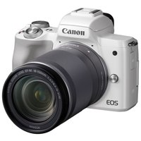 Фотоаппарат со сменной оптикой Canon EOS M50 Kit белый 18-150mm IS STM LP-E12