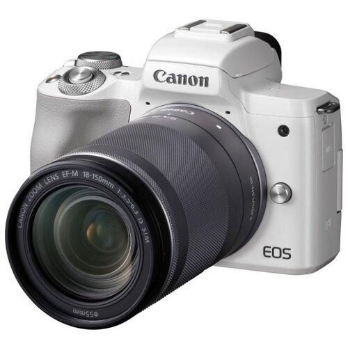Фото - Фотоаппарат Canon EOS M50 Kit белый 18-150mm 18-150mm IS STM LP-E12 фотоаппарат