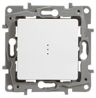 Выключатель 1-полюсный Legrand Etika 672203 10А белый