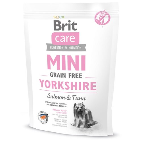 Корм для собак Brit (0.4 кг) Care Mini Grain Free YorkshireКорма для собак<br>