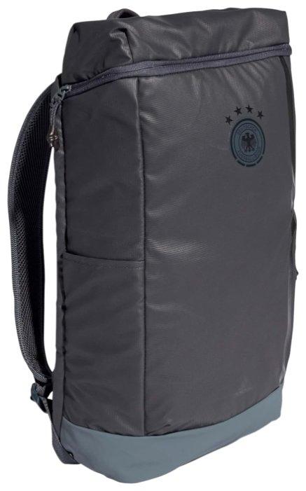Рюкзак Adidas FC Bayern Backpack, -, серый, полиэстер